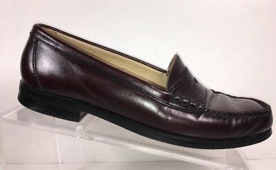 cd9baa3f0c2 GH Bass   Co Men s Loafers Size 7.5 M Shoes Penny Burgundy Genuine Leather