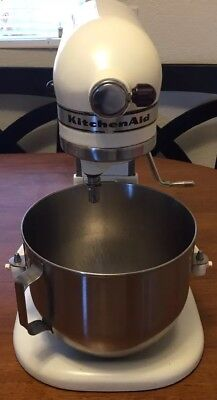 VINTAGE KITCHENAID K5-A by Hobart Stand Mixer w/ 3 Attachments Works on kitchenaid modelo a modelo k-5, kitchenaid accessories, kitchenaid by hobart, kitchenaid k5 a parts, kitchenaid k-5 a manual,
