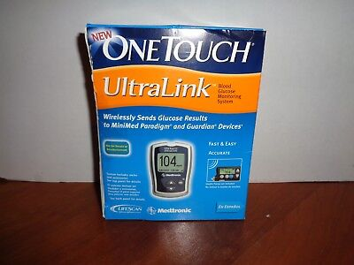 OneTouch UltraLink Blood Glucose Meter Kit Brand New Factory Sealed Ultra Link