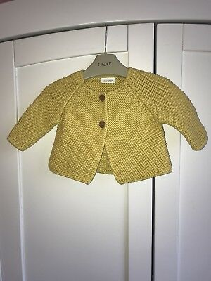 bb500eb37 NEXT BABY GIRL S Yellow Raincoat 3-6 Months - £9.50