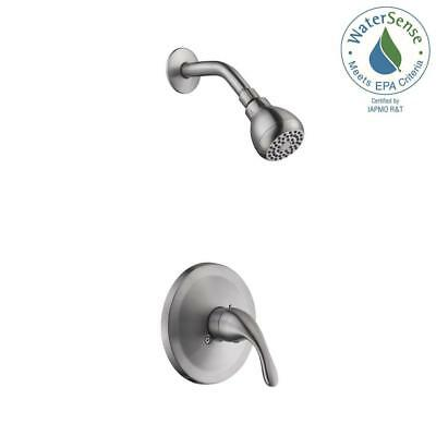 Tub Shower Brushed Nickel Trim Set For Olympia Faucet Single Handle