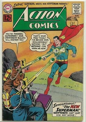 Action Comics # 291 [The New Superman]