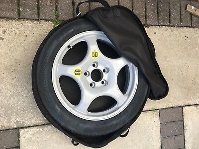 """BMW 5 SERIES F10 /& F11 2011-2016 SPACE SAVER SPARE WHEEL 18/""""  AND COVER BAG"""