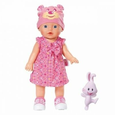 Zapf Creation 823484 - My Little Baby Born® Walks Puppe mit Lauffunktion NEU