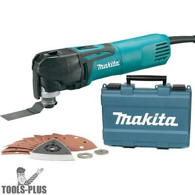 Makita TM3010CX1 3 Amp Variable-Speed Multi-Tool Kit w/ Tool-Less Clamping New