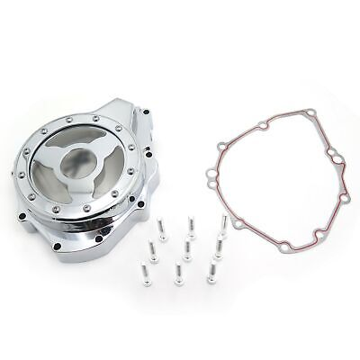 See Through Engine Stator Cover For Suzuki Gsx1300R Hayabusa 99-13 w/ gasket