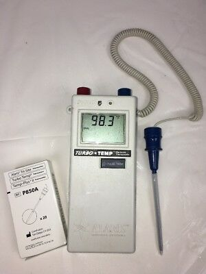 Alaris IVAC Turbo Temp Thermometer working unit withTemp probe