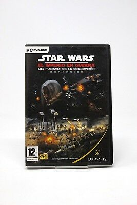 Star Wars Empire At War The Forces Corruption - Pc Dvd Rom