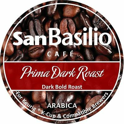 San Basilio Organic  K Cups Prima Dark Roast Coffee High Altitude 100 % Arabica
