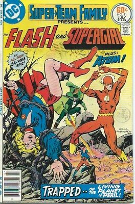 Super-Team Family #11 ( DC 1977) Flash and Supergirl VFN