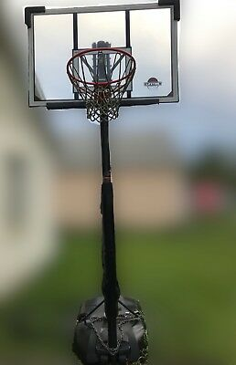 Lifetime 1221 Pro Court Height Adjustable Portable Basketball System With 65 00 Picclick