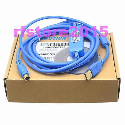 USB-ACAB230 PLC Cable for DELTA DVP PLC USB to RS232 adapter win8 vista