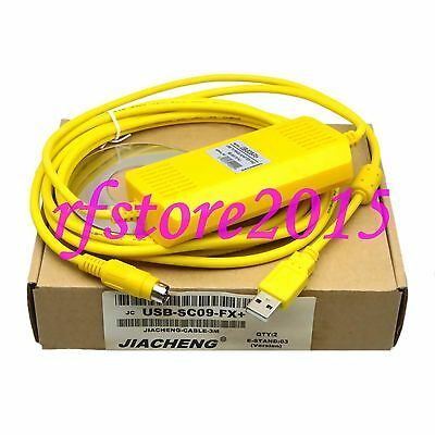 USB-SC09-FX+ PLC Cable for MELSEC FX PLC win7 vista Immunity Lightning