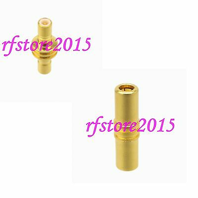 1pce Adapter Connector SSMB to SSMB straight for Communication RF COAXIAL