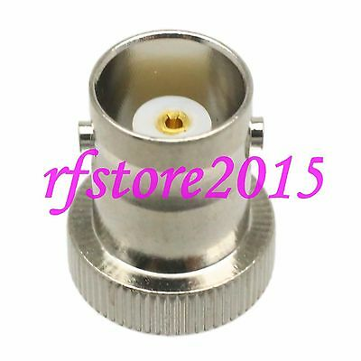 1pce Adapter connector BNC female jack to MCX male plug for Radio RF COAXIAL
