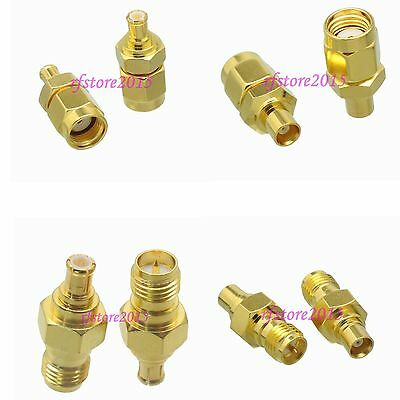 10pcs Adapter Connector MCX to RP-SMA straight for WiFi