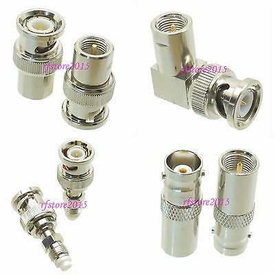 10pcs Adapter Connector BNC to FME for for CCTV Radio