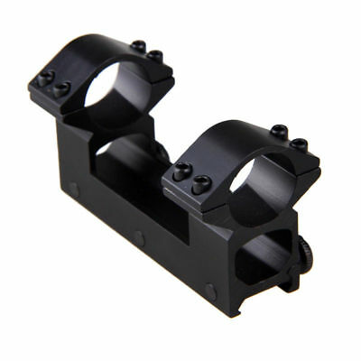 High Profile Dual Ring 25.4mm Rifle Sight Scope Mount For 20mm Weaver Rail 1PC