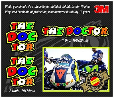 Decal-Stickers-pegatinas-adesivi-aufkleber-autocollants - THE DOCTOR ROSSI 46