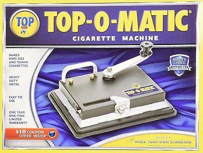 New Top-O-Matic Cigarette Rolling Machine