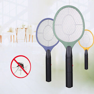 Electric Zapper Bug Bat Fly Mosquito Insect Killer Trap Swat Swatter Hand Racket