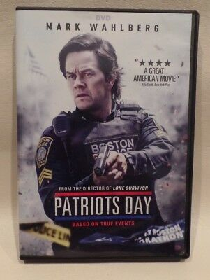 Patriots Day, Dvd, Mark Wahlberg, Action Film