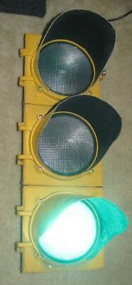 """8"""" Aluminum 3 section LED Mark IV Traffic Signal Light with Sequencer"""