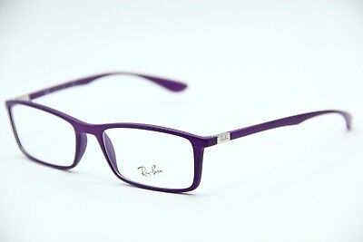 New Ray-Ban Rb 7048 5443 Purple Eyeglasses Authentic Frame Rx Rb7048 53-17