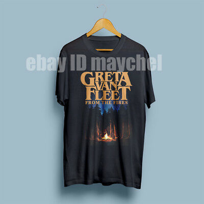 Greta Van Fleet From the Fires Edition poster T-shirt Men's Gildan