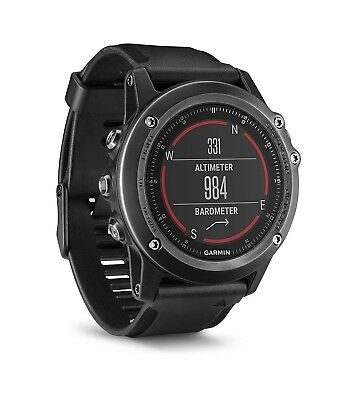 Garmin Fenix 3 HR Titanium/Sapphire Edition GPS Multi Sport Fitness Smart Watch