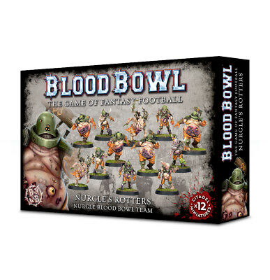 Blood Bowl Nurgle's Rotters Team Games Workshop Nurgle Fantasy Football Chaos