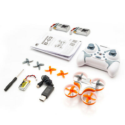 BoldClash BWHOOP B03 2.4G 4CH Altitude Hold RC Drone Quadcopter with 3 Battery