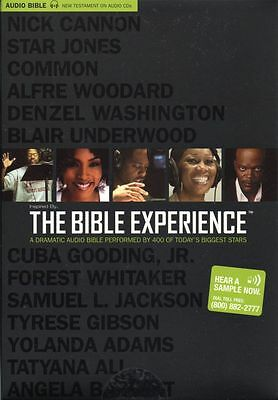 The Bible Experience New Testament, 19 CDs,TNIV, New & Sealed