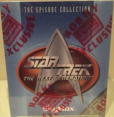 1996 Star Trek The Next Generation SEASON FIVE TRADING CARDS -FACTORY SEALED BOX