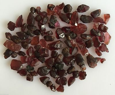 Scoop Natural Garnet Red Rough Gemstones Loose Wholesale Lot Raw Mineral 110 Ct