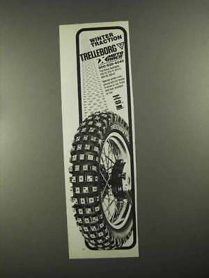 1988 Trelleborg Tires Ad - Winter Traction