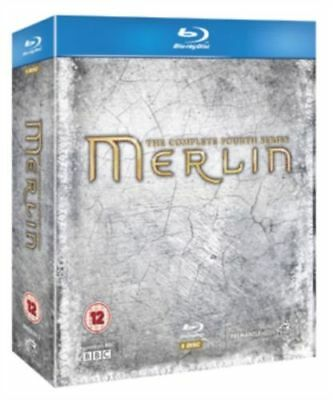 Blu Ray MERLIN the complete fourth series 4 four. 5 discs. New sealed.