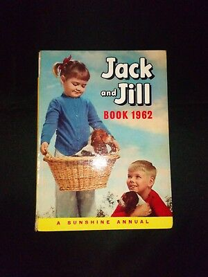 Jack And Jill Book 1962 Vintage Children's Annual