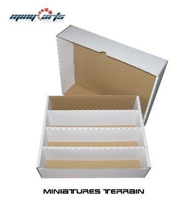 Papp- Box/Cardboard for Approx. 4000 Cards Sorting, Storage, Card Box Top