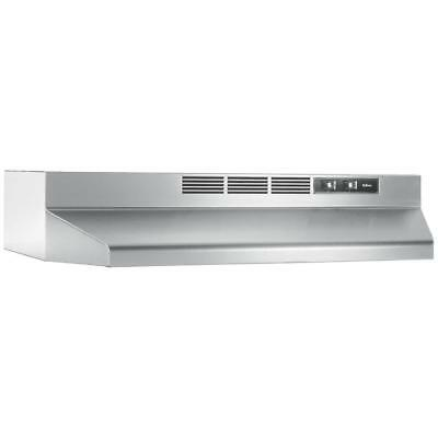 "36"" OVER THE STOVE RANGE HOOD Stainless Steel Non-Ducted Under Kitchen Cabinet"