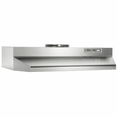 "Over The Stove RANGE HOOD Ducted Stainless Steel 30"" Under Kitchen Cabinet Fan"