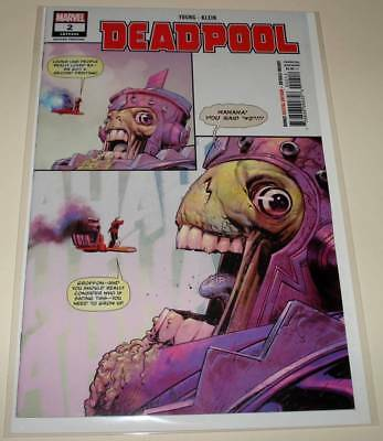 DEADPOOL # 2 Marvel Comic (October 2018)  NM  2nd PRINTING VARIANT COVER