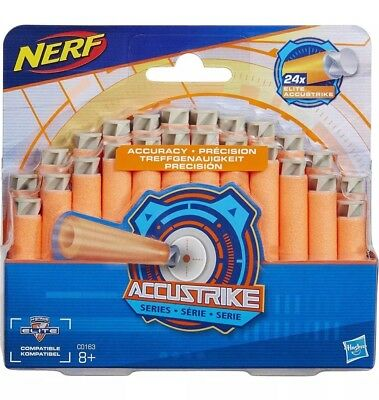 Nerf AccuStrike Elite Accu Series Refill Toy Pack of 24 Brand New BNIB Free Post