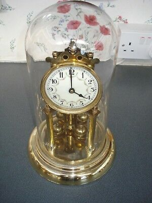 Early Juf Torsion Clock & Glass Dome Anniversary 400 Day Parts Spares