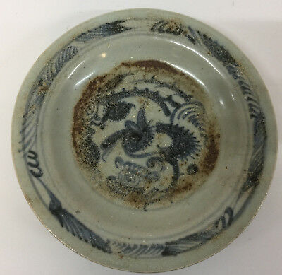 China Chinese  Pottery Plate Dish Provincial  15th century