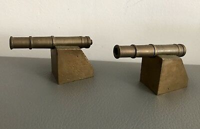 Pair Of Early Victorian Late Georgian Toy Battlefield Canons