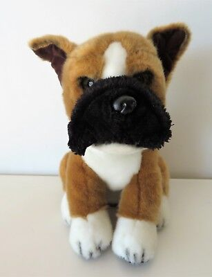 Fao Schwarz Boxer Plush Puppy Dog
