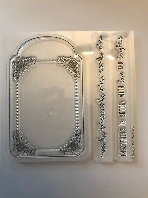 Clear  silicone Love stamps for craft mixed media, scrapbooking card making