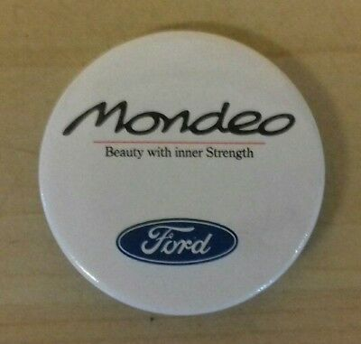 Ford 'Mondeo - Beauty with inner strength' pin badge