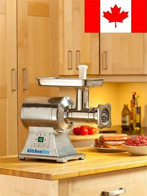 True 1Hp Commercial Meat Grinder Electric No. 12 Etl